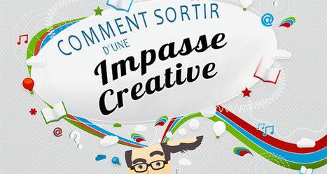 Infographie: comment sortir d'une impasse créative ? | Ressources en médiation numérique | Scoop.it