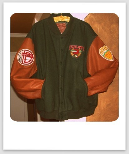 Rare Ducati Letterman Jacket For Sale | DucatiClassifieds.com | Ductalk Ducati News | Scoop.it