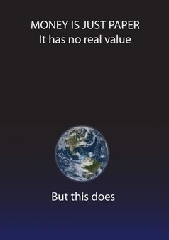Call it interesting: What is the real value of money? | Living on the edge. | Scoop.it