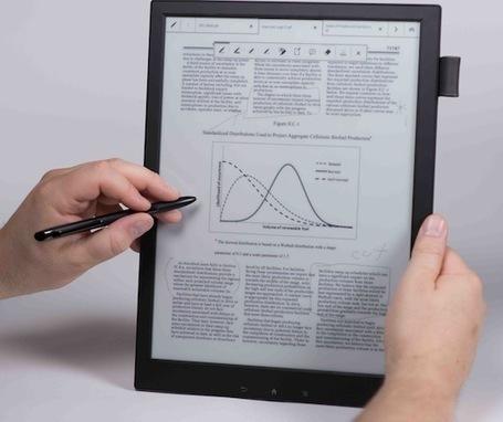 Le papier électronique de Sony annoncé à 1100 dollars   L'édition en numérique   Scoop.it