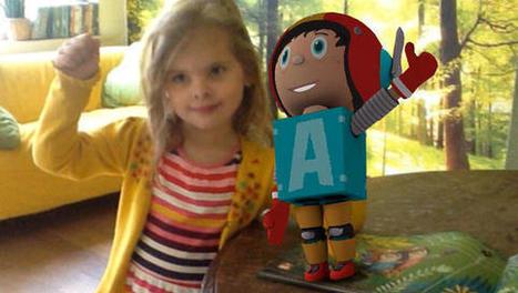 Alex de Astronaut, kinderboek dat tot leven komt dankzij augmented reality   ICT kleuterklas   Scoop.it