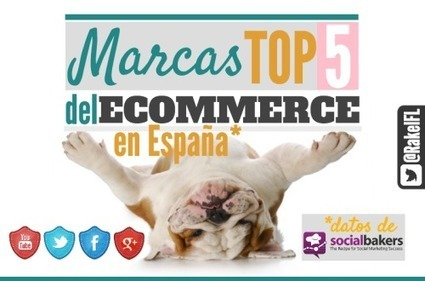 Las 5 Marcas Top en redes sociales del eCommerce en España | Seo, Social Media Marketing | Scoop.it