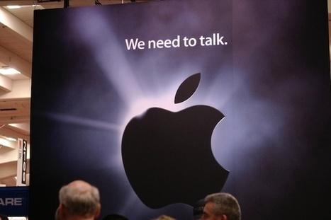 Apple finit d'internaliser ses relations presse | Communication & RP | Scoop.it