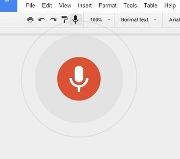 La dictée vocale arrive sur les Google Docs   Outils FLE   Scoop.it