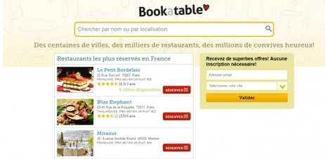 Michelin croque Bookatable pour mieux concurrencer Tripadvisor | Food News | Scoop.it