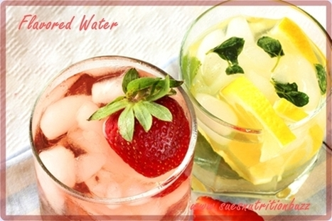Make Your Own Vitamin & Mineral Water ! | Food for Foodies | Scoop.it