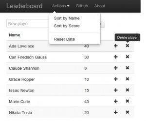 Meteor Leaderboard with CoffeeScript, Less andBootstrap | Meteor | Scoop.it