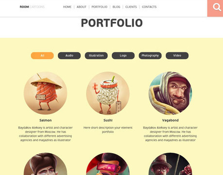 35 Clean and High Quality Minimalist One Page WordPress Themes [Responsive]   Template & Webdesign   Scoop.it