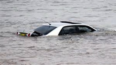 How to escape a car that has been submerged under water | Brian's Science and Technology | Scoop.it