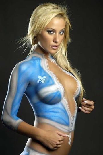 These Body Paint Pics Are Smoking Hot | Awesome ReScoops | Scoop.it