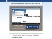 Liveloop. un plugin powerpoint et un service web pour rendre Powerpoint collaboratif | e-participation | Scoop.it