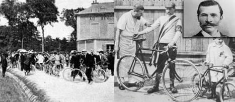 1er juillet 1903. Le capitaine Dreyfus donne le départ du premier Tour de France. Enfin presque... | GenealoNet | Scoop.it
