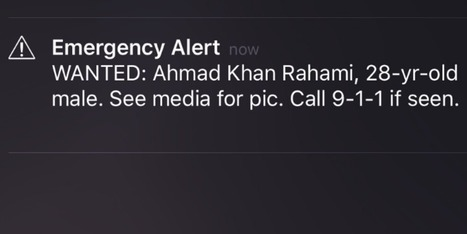 #URGENT '#Emergency #Alert re. muslim Terrorist Bomb Suspect Has New Yorkers On Edge: Search for Ahmad Khan Rahami' | News You Can Use - NO PINKSLIME | Scoop.it
