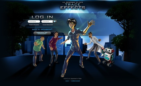 Trace Effects | A video game for learning American English and culture | Games and education | Scoop.it