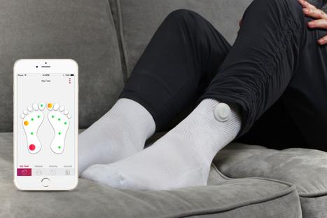 "Siren Care makes a ""smart"" sock to track diabetichealth   Entrepreneurs   Scoop.it"