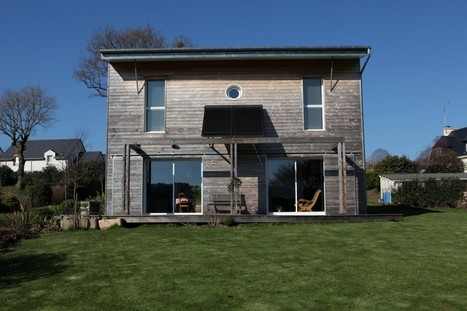 A BIOCLIMATIC HOUSE  NEAR VANNES, BRITTANY, by a.typique Patrice BIDEAU architecte DPLG - archilist eu | architecture..., Maisons bois & bioclimatiques | Scoop.it