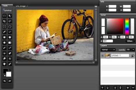 Modificare le Foto con un Mini-Photoshop Online: Splashup | EditareImmagini | Scoop.it