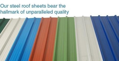 Steel Roof Sheets Manufacturer - Metal Roofing