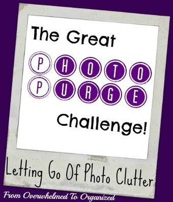 From Overwhelmed to Organized: The Great Photo Purge Challenge Week 1 Update & Tips | Business Marketing & The Blog | Scoop.it