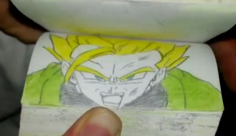 Flipbook d'un combat entre Gohan vs Jenemba | Art, Design and Imagination | Scoop.it