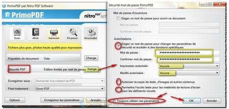PrimoPDF - créer et protéger vos fichiers PDF   Geeks   Scoop.it