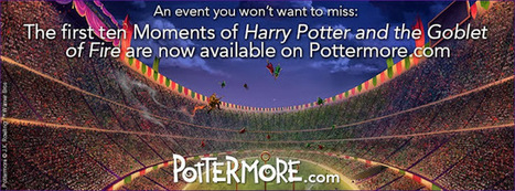 Pottermore Insider: The first instalment of 'Harry Potter and the Goblet of Fire' is available to explore on Pottermore.com. | Pottermore | Scoop.it