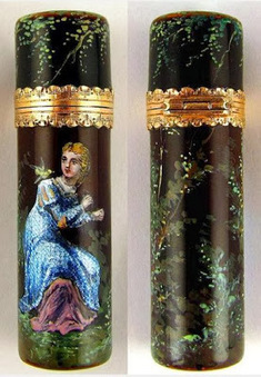 My Antique World: Object of the day: French enamel scent bottle | Antique world | Scoop.it
