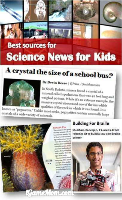 Best Sources of Science News for Kids   CLIL Materials   Scoop.it