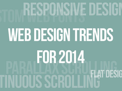 Clean & Simple Website Design Trends In 2014 | Online Marketing Resources | Scoop.it