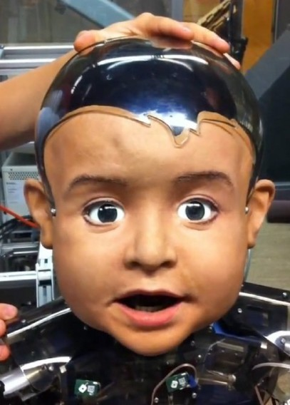 Diego San, le bébé robot au visage expressif   Post-Sapiens, les êtres technologiques   Scoop.it