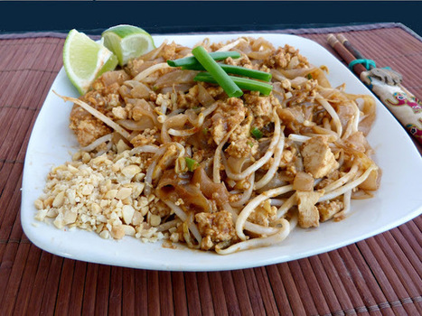Vanilla & Spice: Pad Thai with Scrambled Tofu | The Butter | Scoop.it