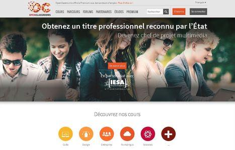 OpenClassrooms - MOOC et cours accessibles aux demandeurs d'emploi   Web, Internet & Transmedia   Scoop.it
