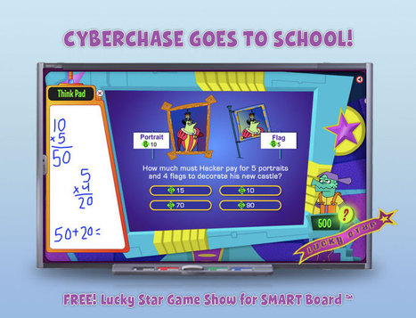 Cyberchase . FREE Lucky Star Game Show Application for SMART Board | Education Library and More | Scoop.it