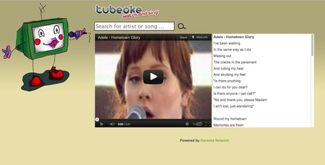 Free Online Karaoke | 21st Century Tools for Teaching-People and Learners | Scoop.it