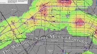 The true pulse of L.A.? It emanates from this oddly shaped heart   GIS Resource   Scoop.it