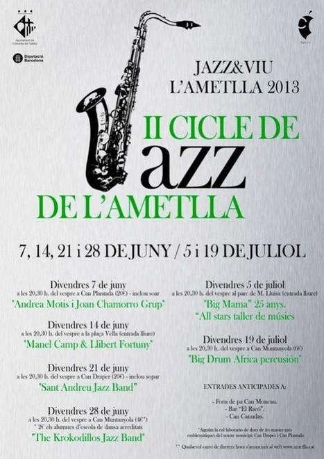 Cicle de Jazz de l'Ametlla del Vallès   Actualitat Jazz   Scoop.it