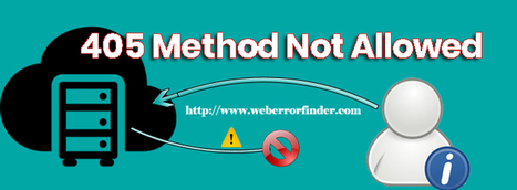405 Method Not Allowed: What It Is and How to F