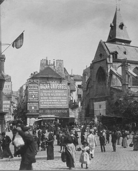 Rue Mouffetard – In the Footsteps of Eugène Atget | DESARTSONNANTS - CRÉATION SONORE ET ENVIRONNEMENT - ENVIRONMENTAL SOUND ART - PAYSAGES ET ECOLOGIE SONORE | Scoop.it