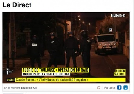 En direct : Le suspect serait cerné par le RAID | Toulouse La Ville Rose | Scoop.it
