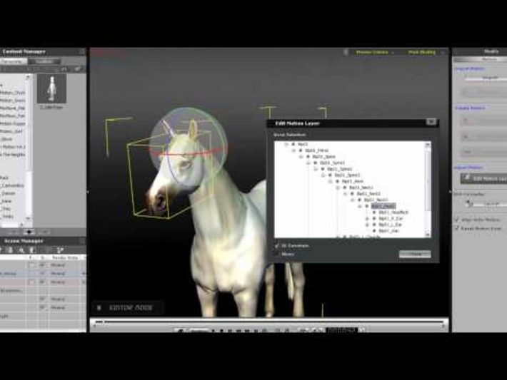 iClone5 Tutorial – Character Types « Safegaard – Movie Theater | Machinimania | Scoop.it