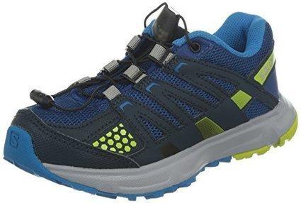 bae45add9bdf Salomon Youth XR Mission Trail Running Shoes Gentiane   Deep Blue   Gecko  Green 4