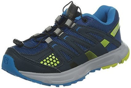 ab2d675f79d8 Salomon Youth XR Mission Trail Running Shoes Gentiane   Deep Blue   Gecko  Green 4