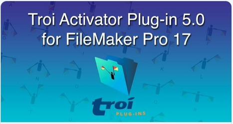 Activator Plug-in for FileMaker Pro 17: Trigger