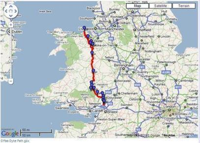 Offa's Dyke - National Trails | Background Story is History | Scoop.it