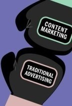 Is Content Marketing Traditional Advertising's New Rival? [Infographic]   Content Marketing & SEO   Scoop.it