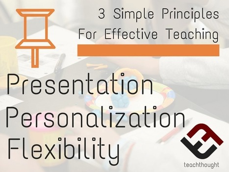 3 Simple Principles For Effective Teaching - | TeachThought | Scoop.it