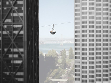 A Mass-Transit Proposal To Connect A City Using Aerial Gondolas | Innovations urbaines | Scoop.it
