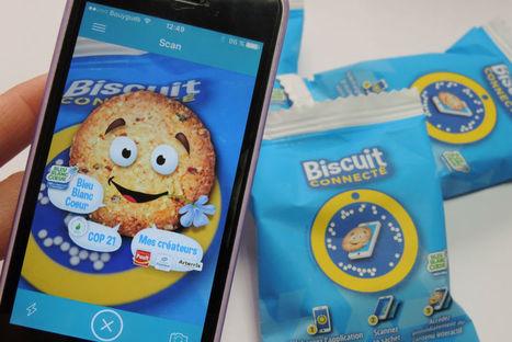 Lancement du premier biscuit… connecté | Ubleam | Scoop.it