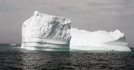 Kayak with icebergs in Newfoundland | KNOWING............. | Scoop.it