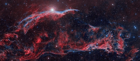 APOD: 2014 April 4 - Along the Western Veil | Astronomy news | Scoop.it
